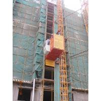 China 1 Ton Single Cage Construction Building Material Hoist For Cargo, Passenger SS100/100 on sale