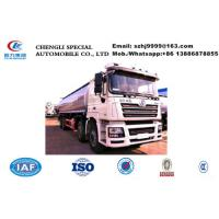 Quality Factory sale customized SHACMAN brand 8*4 35,000Liters fuel tank truck, HOT SALE! good price SHACMAN oil tank truck wholesale