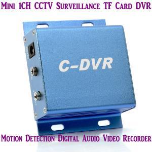 Cheap Mini C-DVR 1CH CCTV Surveillance TF Card DVR Digital Audio Video Recorder Motion for sale