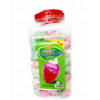 Quality Lovely Marshmallow Candy Sweet and Soft Strawberry Ice Cream Shape wholesale