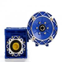 Quality NMRV RV Ratio 20/1 56C Worm Reduction Gearbox With Double Shaft 50Hz Frequency wholesale