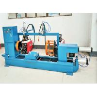 China Manual Loading - Unloading CNC Metal Spinning Lathe Steel Bottle Seam Welding on sale