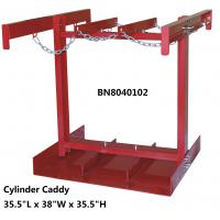 """Cheap Steel Compressed Gas Cylinder Stands , Gas Tank Storage Rack 7 To 9.5"""" Diameter for sale"""