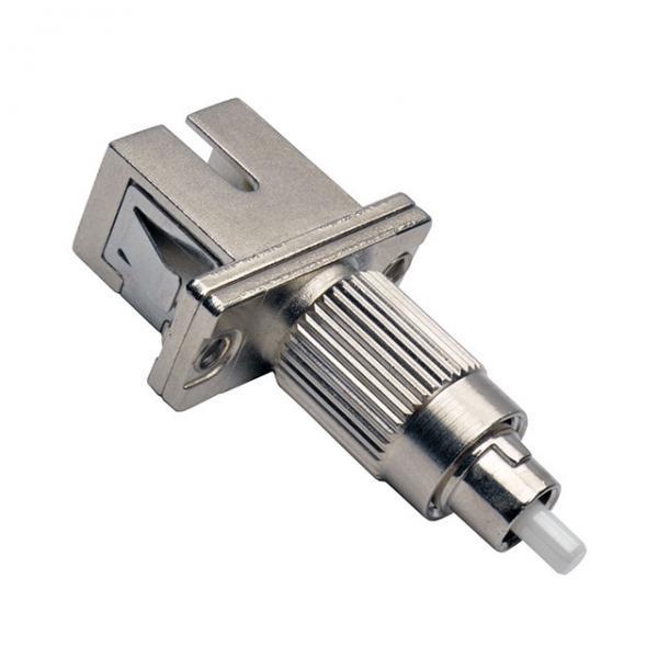 Cheap Fiber Optic Couplers SC Female To FC Male Hybrid sc fc adapter, Singlemode, PC/APC type, metal body for sale