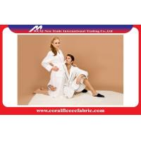 China Couples Luxury Bathrobes Double Layer Waffle Wave Robe with 100 Cotton Lining on sale