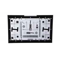 Cheap 8X Enhanced ISO12233 high resolution test chart iso test chart camera test charts for 21 Megapixel camera 4000 lines for sale