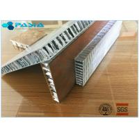 Buy cheap Anti Shock Perforated Type Aluminum Honeycomb Core For Building Exterior Walls from wholesalers