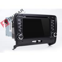 Cheap Wince MTK 3360 Audi Tt Dvd Player , Double Din Touchscreen Head Unit Support for sale