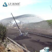 Quality Long Span Steel Coal Storage Shed Space Grid Frame Structures Dry Coal Shed wholesale