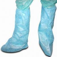 Quality Ploypropylene/Nonwoven Boot Covers, Suitable for Laboratory wholesale