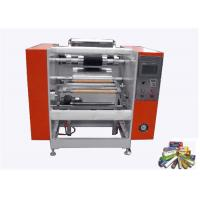 Quality Household Roll Semi Aluminium Foil Cutting Machine With Food Packing 3M To 330M Length wholesale