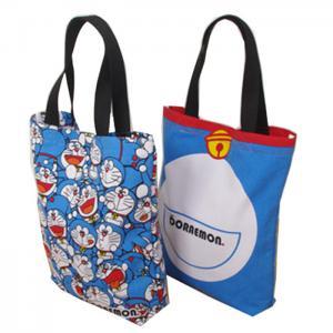 Quality Eco Friendly Cute Doraemon Ladies Tote Bags Cotton Handbags for Womens wholesale
