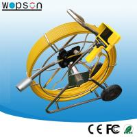 China Factory Drain Pipe Inspection Camera with 120m Push Rod Cable on sale