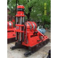 Cheap Engineering Drill Rig Reverse Circulation , Skid Mounted Drilling Rig for sale