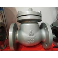"Quality API 600 Carbon Steel 150LB 3"" Swing ANSI Flanged Check Valve WCB Check Valve wholesale"