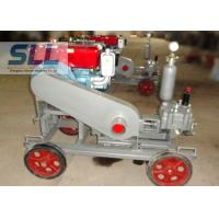 China 2 MPa Pressure Cement Grouting Pump With Gear Reducer Low Failure Rate on sale