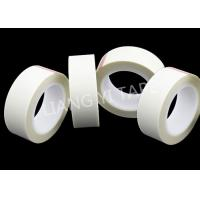 China 380V / 25mm Fabric Insulation Tape , Silicone Glue Coated Glass Cloth Tape on sale