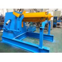 Quality 5 Ton Hydraulic Decoiler For Automatic CNC Roll Forming Line CE Approved wholesale