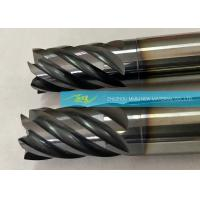 Quality Customized And OEM Cemented Solid Carbide End Mills / Four Flute End Mill wholesale