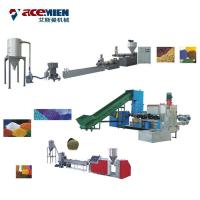 Quality PP PE HDPE LDPE Plastic Granulator Machine Recycling Pelletizer Machinery wholesale
