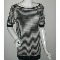 Quality Ladies Stripe Knitted Pullover, Cotton Sweater (SFY-A053) wholesale