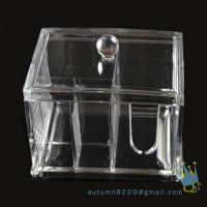 Quality acrylic cosmetic organizer box wholesale