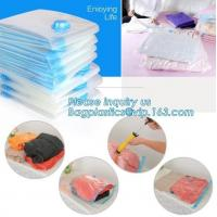 Quality vacuum storage bag set, plastic nylon pe vac bag for travel, ziploc clothes storage bags vacuum, bagplastics, bagease wholesale