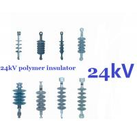 Buy cheap Silicone Composite Suspension Insulator , 24 kV Transmission Power Line Insulators product