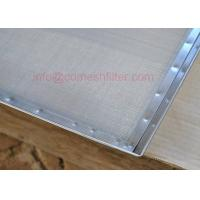 Buy cheap stainless steel trays with water drain hole,18X26 inch dehydrator trays from wholesalers