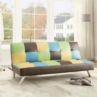 Quality Colorful Fold Up Sleeping Sofa Bed Office , Living Room Hideaway Bed Couch22kg wholesale