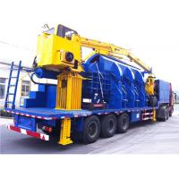China Portable Hydraulic Baling Machine 110KW Scrap Aluminum Alloy Material on sale