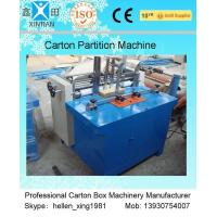 Quality GBJ High Speed Automatic Clapboard Machine Of Corrugated Paperboard wholesale