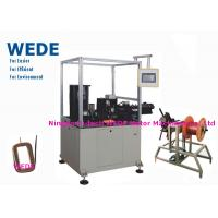 Quality Auto Paper Inserting Coil Winding Machine By Flat Wire PLC Control Mode wholesale