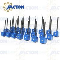 Buy cheap QWL worm screw jack for solar trackers mini screw jack JWM series Worm gear lead from wholesalers