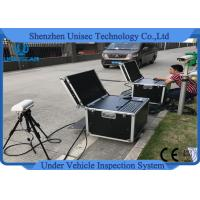 Quality Under Vehicle Surveillance System UVSS Mobile Type Dynamic Imaging UV300M wholesale