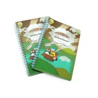 Cheap PP Cover Memo Pad Custom Spiral Notebooks With A6 / A5 / A4 Lined Paper for sale