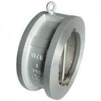 China Cast Steel Duo Plate Wafer Check Valves on sale