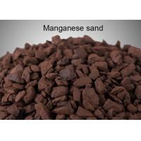 Quality Removing Mn And Fe Manganese Greensand Filter Media Strong Oxidizing Agent wholesale