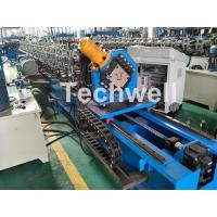 Quality Guiding Column Forming Structure Hat Profile Cold Roll Forming Machine For 15KW Motor Power wholesale