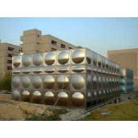 Quality Large Water Stainless Steel Water Tanks For Fire Water With ISO9001 wholesale