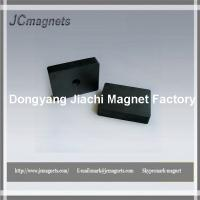 Quality cermice/ferrite block magnet with hole wholesale