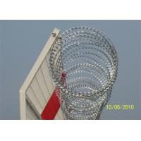 Quality Hot Dipped Galvanized Razor Barbed Wire Crossed Fence BTO-22 CBT-65 wholesale