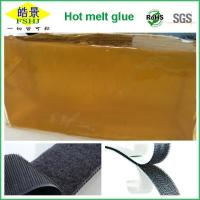 Quality EVA Brown Hot Melt Pressure Sensitive Adhesive For Magic Banding High Soften Point wholesale