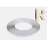 Buy cheap Arrow Shape 1 Inch Jewelite Plastic Trim Cap 3D Letter End Cap PVC from wholesalers