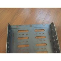 Buy cheap Medium Duty Return Flange Cable Tray Making Machine Length 50m X Width 4m X from wholesalers