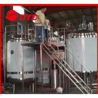 Quality Pipe Welding Semi-Automatic Beer Brewing Tanks Mirror Polish Inner Surface wholesale