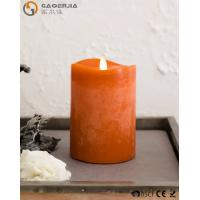 Cheap Flame LED wax fall Candle of natural beauty and beautiful autumn colors for sale