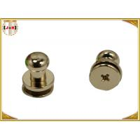 Quality Custom Metal Hardware For Bags / Handbags , Leather Purse Handles And Hardware wholesale