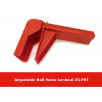 Cheap 326G Durable Plastic Flame-retardant Material Valve Lock Out , English Labels is Available for sale