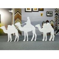 Quality Custom Size Store Window Decorations PVC Camel Sculpture Bespoke Carving Animal Statues wholesale
